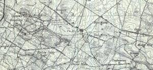 mapa-taktyczna-poslki-1934 okolice Mirowa - Jan Ulewisński